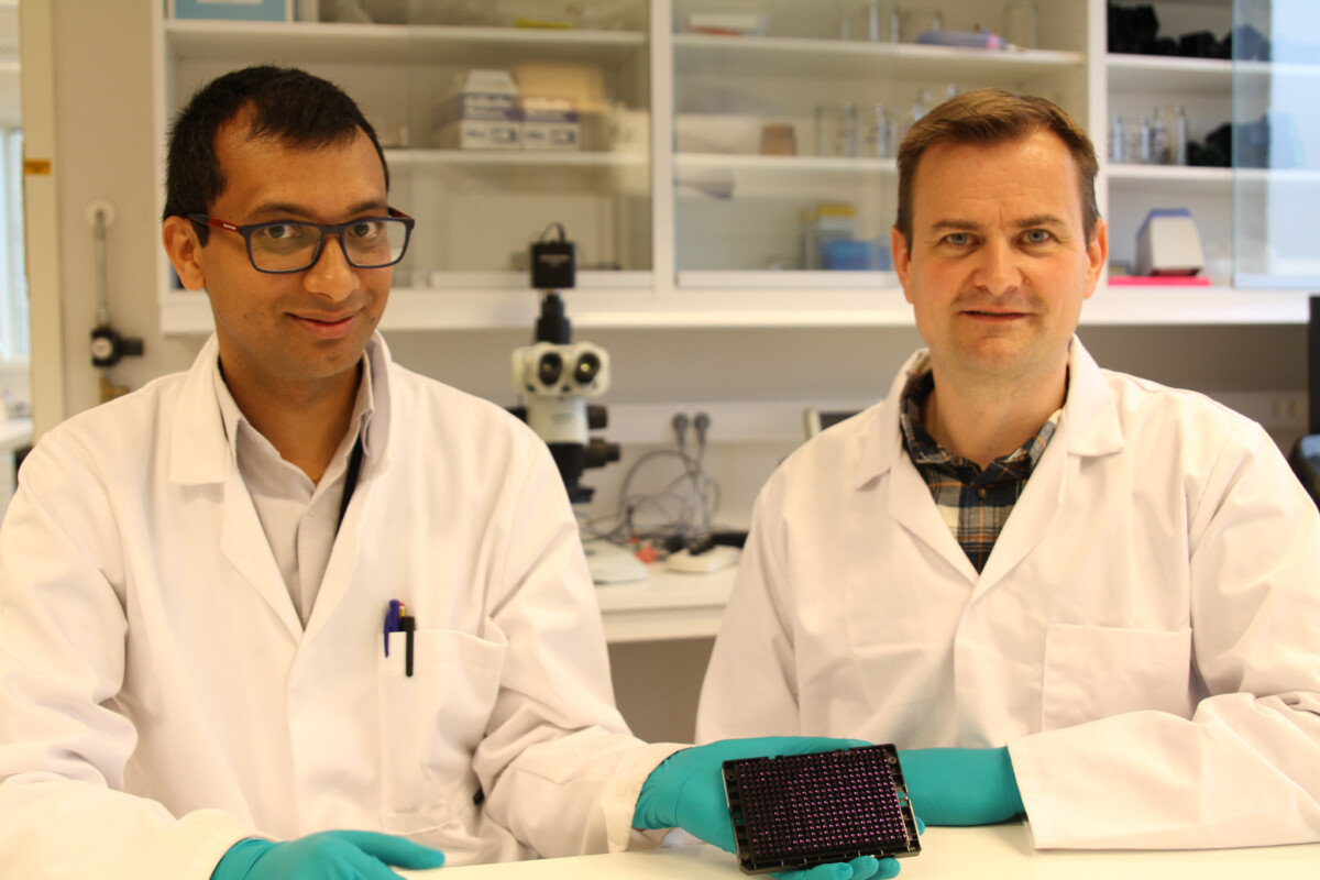 Senior Scientists, Rajesh Joshi and Anders Skaarud have been important contributors to the development of the streptococcosis resistant GenoMar tilapia.